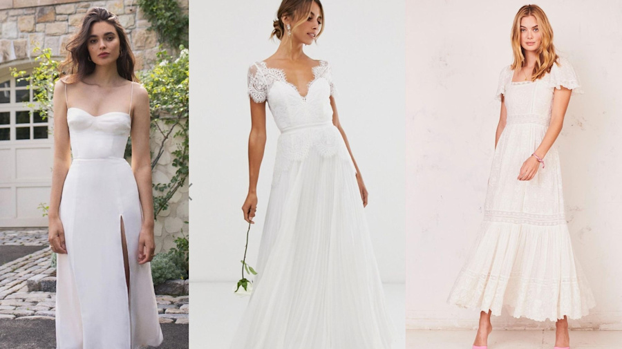 10 affordable bridal gowns for lockdown weddings