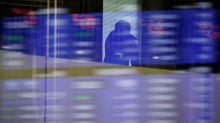U.S. stocks rise on industrials; dollar flattens