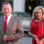 U.S. Senate candidate Moore's wife says 'he will not step down'