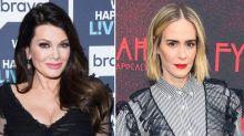 Lisa Vanderpump Shades Sarah Paulson After Actress Said She 'Wasn't That Nice': 'Not Sure I Know Her'