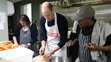 Prince William Pens Cookbook Foreword Celebrating Homeless Charity's 40th Anniversary