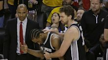 Pop: Kawhi out for Game 2 after Zaza's 'dangerous,' 'unsportsmanlike' play