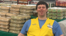 Man with cerebral palsy loses greeter job at Walmart, accepts new position after flood of support