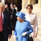The queen has invited Donald and Melania Trump for a state visit and Brits aren't happy: 'He's not welcome here, ever'