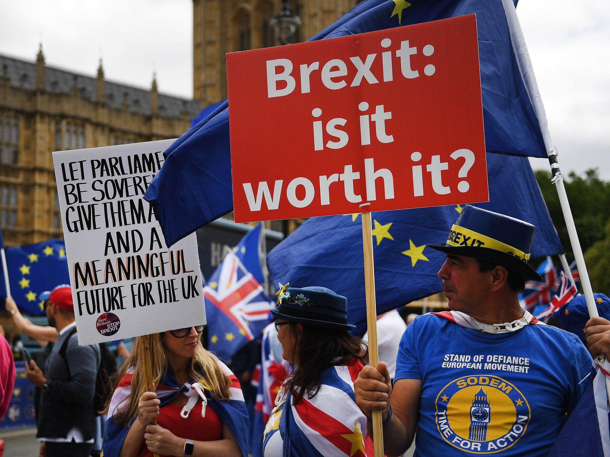 Final Say: More than 100,000 protesters expected in London to lead largest anti-Brexit demonstration to date