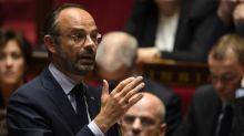"""Perquisitions à la France insoumise Edouard Philippe se dit """"choqué"""" par la violence des images"""