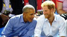 Da mögen sich zwei: Prinz Harry trifft Barack Obama