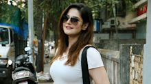 Cops Resort to Lathi Charge After Zareen Khan is Mobbed