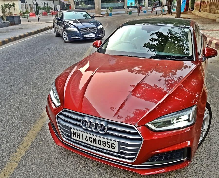 India's coolest sedans: Jaguar XF vs Audi A5