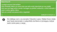 Celular escondido em roupas foi prova principal de investigação sobre suposto esquema de corrupção na prefeitura do Rio