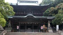 日本香川縣金刀比羅宮 日本人一生一定要來參拜一次的聖地