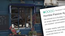 'Epic tool' customer berated by restaurant owner over review