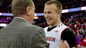 Charge ahead: Clever play gives Badgers victory