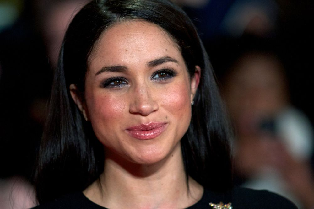 Meghan Markle's natural hair is a hot topic on the internet. (Photo: Getty Images)