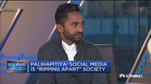 Facebook slams former exec Palihapitiya, saying it 'was a very different company back then'