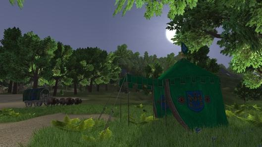 Go tent camping now in Wurm Online