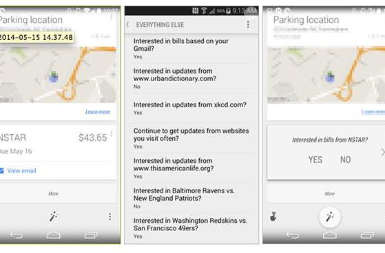 Google Now gets billing integration, reminds you when payment is due