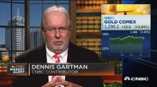'Gold is about break out on the upside strongly,' Dennis Gartman says