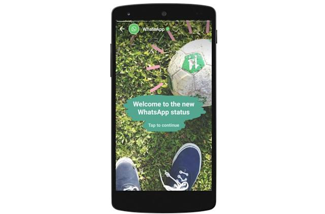 Get ready to see ads in WhatsApp stories