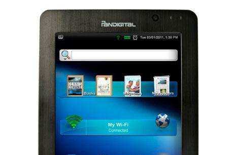 Pandigital Supernova available mid-October for $230, is an eReader in Android tablet disguise