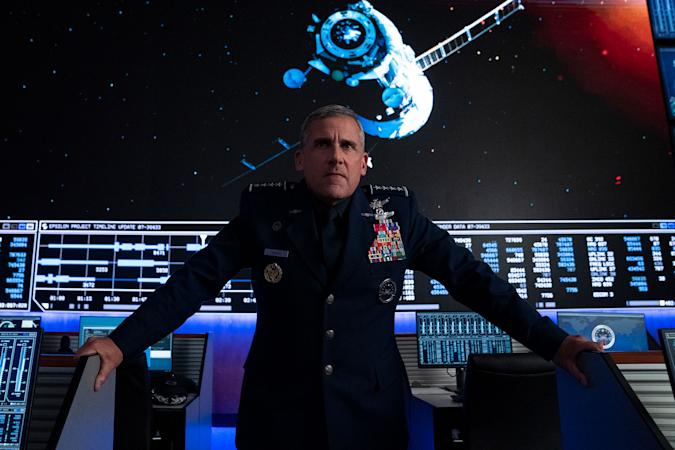 Steve Carrell in 'Space Force' for Netflix