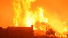 Firefighters protect seaside California towns as blaze rages