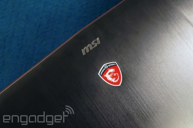 MSI's latest gaming laptop brings a more grown-up design, a couple big-ass fans