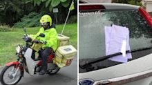 Man fumes over Australia Post worker's 'lazy act'
