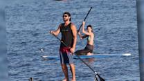 Bikini-Clad Kendall Jenner Enjoys a Paddleboarding Session