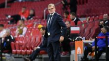 Interim Dutch boss Lodeweges' future no clearer after Italy defeat