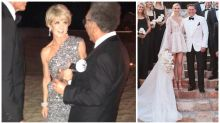 Julie Bishop glams up for Karl Stefanovic's wedding