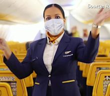 Budget airlines make masks compulsory for passengers
