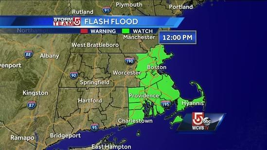 Cindy's wet Friday Boston-area forecast