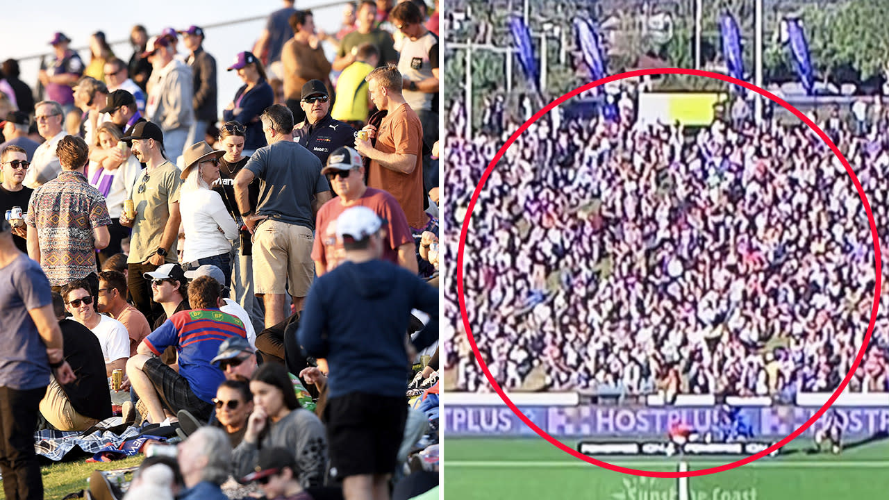 'What is doing': Investigation launched into 'ridiculous' NRL crowd – Yahoo Sport Australia