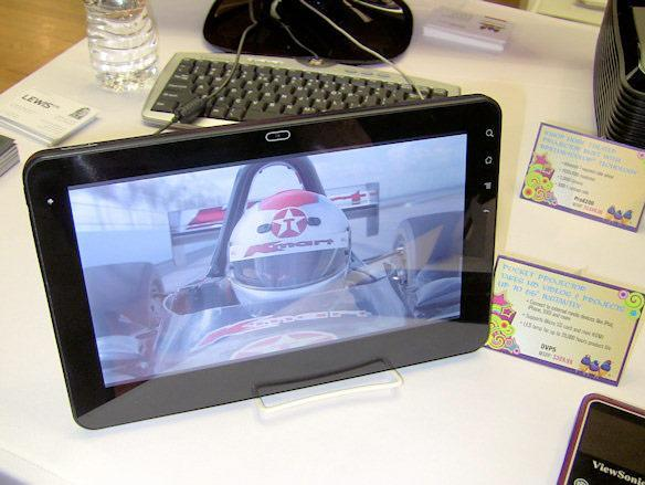 ViewSonic outs 10-inch G Tablet: Android 2.2, NVIDIA Tegra 2 on the inside