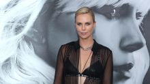 Charlize Theron Wears a Totally See-Through Shirt — and It's Not a Wardrobe Malfunction