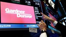 Gardner Denver to merge with Ingersoll-Rand division - WSJ