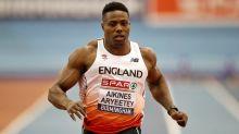 Harry Aikines-Aryeetey wins 100m title at British Athletics Championships