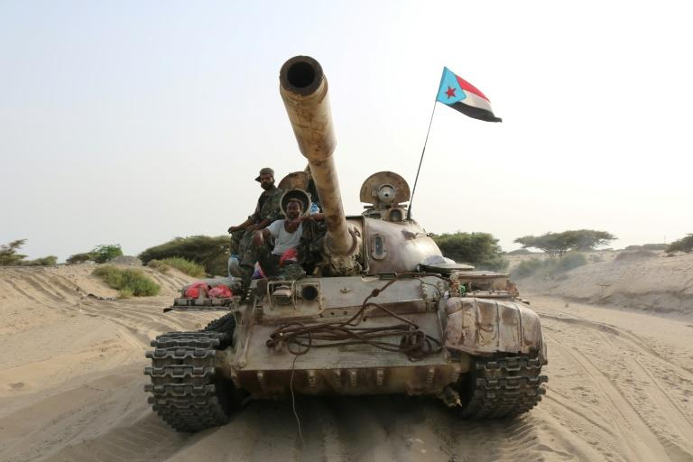 The separatists are fighting to regain the independence of South Yemen which unified with the north in 1990 (AFP Photo/-)