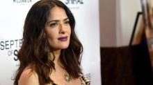 Salma Hayek Plays Babysitter While Cooking for Ryan Reynolds and Blake Lively -- See the Pic!