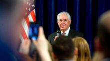 No 'wins on the board yet' for US foreign policy, Secretary of State Rex Tillerson says
