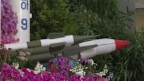 Raw: Missiles Featured at NKorea Flower Festival