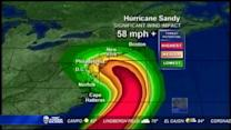 Hurricane Sandy affects local air travel