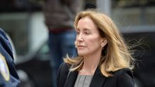 Felicity Huffman leaves prison after completing sentence for college admissions scandal