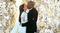 Kim and Kanye Release Photos on Instagram