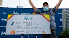 'Daddy just won $70 million': Ontario dad takes home massive Lotto Max win