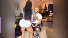 Gracyanne Barbosa faz dança nada sensual para Belo