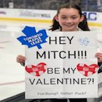 Watch: Mitch Marner makes young fan's Valentine's Day wish come true