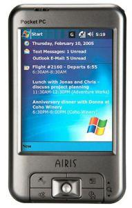 Airis' GPS-enabled T610 and T620 PDAs won't break the bank