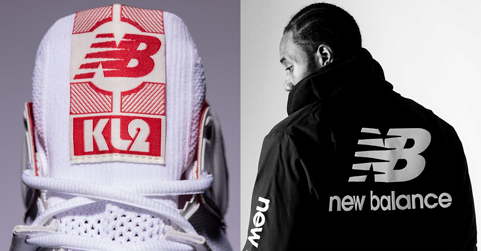 49f2b61aecc732 Kawhi Leonard debuts his signature New Balance shoe